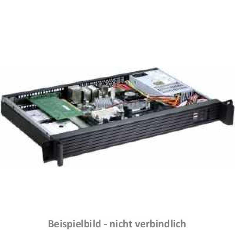 19 Zoll Mini-ITX-Industriegehäuse 1HE 250 Watt Flex-ATX Netzteil