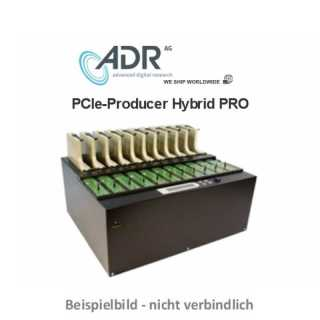 ADR PCIe Producer Hybrid PRO - Standalone PCIe-Duplicator with 1 masterslots and 5 targets, separate SATA & PCIE Socket