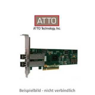 ATTO - Host Adapter - Celerity - 8Gb FC 2Ch. PCIe x8 Gen2.0 Optical SFP+ LC Low Profile HBA