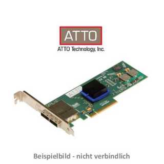ATTO - RAID Adapter - Express SAS - ExpressSAS RAID PCIe 2.0 6Gb SAS/SATA 8Port Int Low Profile