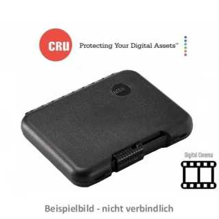 CRU - Wechselrahmen - Digital Cinema - DCmini - Shipping Case - protective plastic case w/foam insert - for DC Mini cartridge or TTm3 + cable - black - qty 1