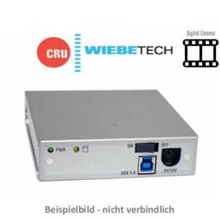 CRU - Wechselrahmen - Digital Cinema - Move Dock - Carrier Adapter - USB3.0 - USB 3.0 - Stromkabel - EU power - auch für DX115DC
