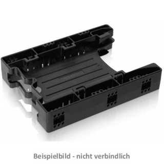 ICY DOCK - EZ-Fit Light MB290SP-B / MB290SP-1B (mit Kabeln) 2x2,5? SSD/HDD Montagerahmen