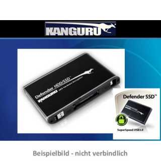 Kanguru - 1 TB - Defender 300 HDD - AES Hardware Encrypted Drive - USB 3.0 -  FIPS 140-2