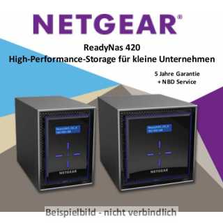 Netgear - ReadyNAS - Desktop - ReadyNAS 422 2-bay - Diskless NAS