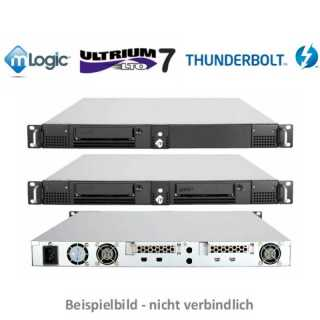 mLogic  - THUNDERBOLT LTO - mRack Thunderbolt3 LTO-7 Dual with Codex Production Suite for macOS
