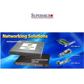 Supermicro - 10G Ethernet Switch SBM-XEM-X10SM